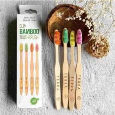 Bamboo Tooth Brush - Family Pack (குடும்ப பேக் பற்குச்சி)