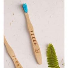 Bamboo Tooth Brush - Kids Blue (நீல பற்குச்சி)